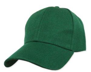 หมวกแกีปสีเขียว