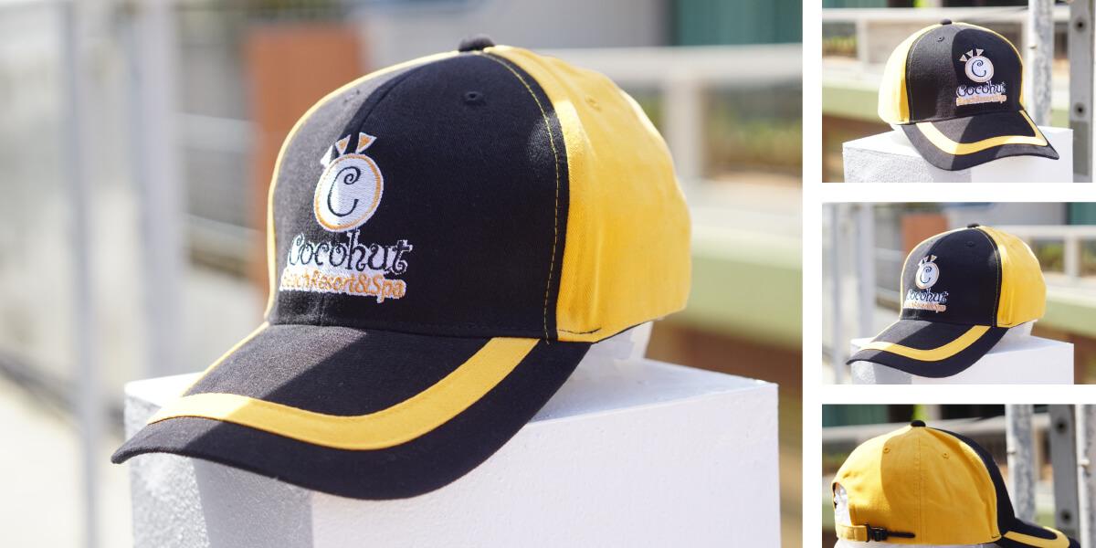หมวกแก๊ปพรีเมี่ยม แบบที่1
