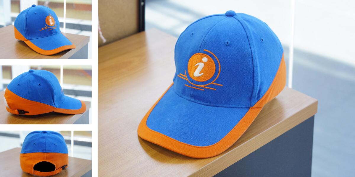หมวกแก๊ปสั่งทำ แบบที่8
