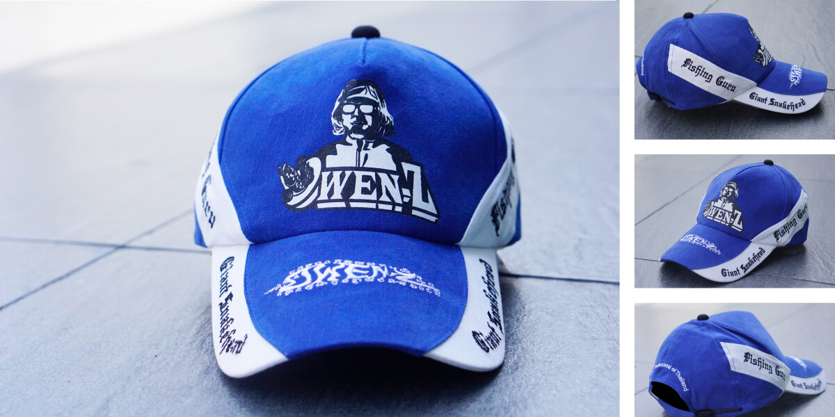 หมวกแก๊ปสีน้ำเงิน แบบที่10