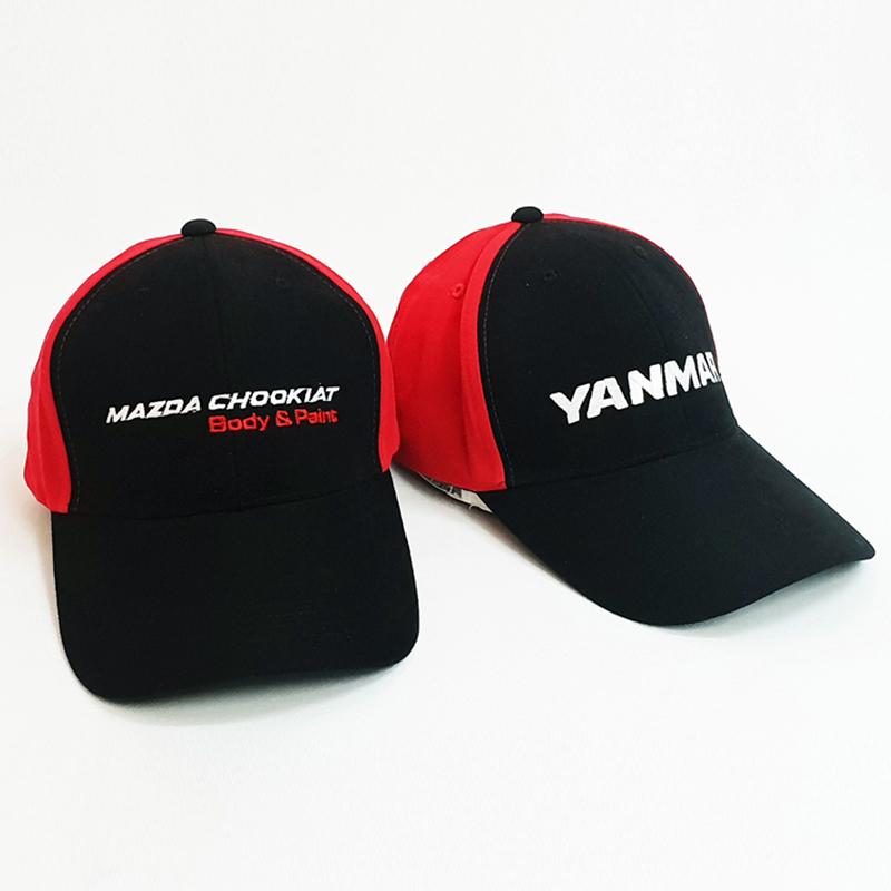 หมวกแก๊ปทูโทน Mazda