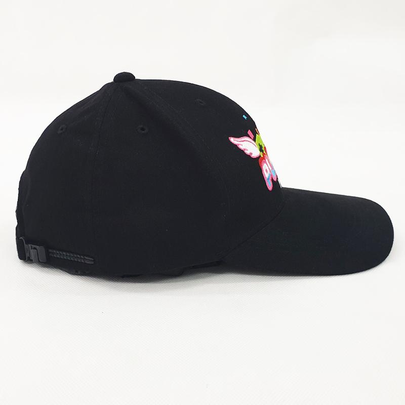 หมวกแก๊ปสีดำ Plinky
