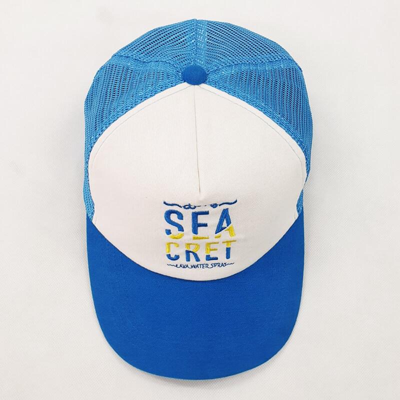 ทำหมวกตาข่าย Sea Cret