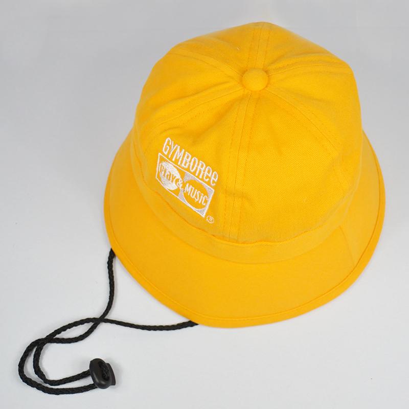รับผลิตหมวกปีกรอบเด็กสีเหลือง