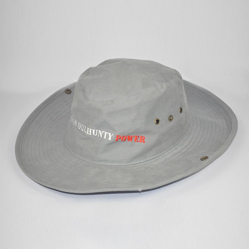 ตัวอย่างงานปักหมวกซาฟารี