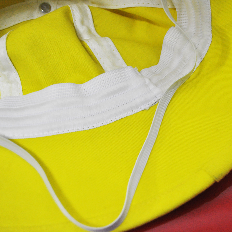 บิงกาวาสีขาวรอบหมวก