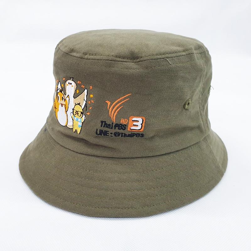 หมวกปีกรอบสั่งผลิตโดย Thai PBS