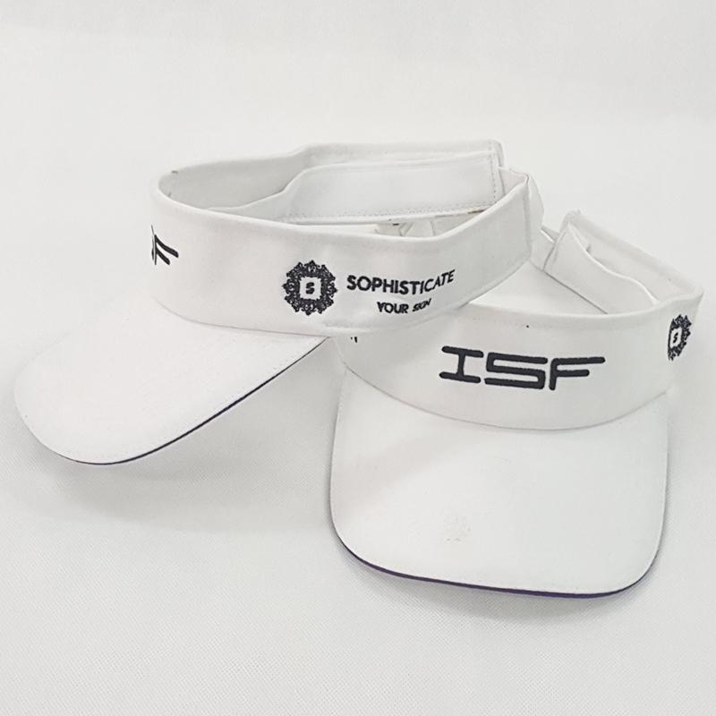 หมวกไวเซอร์สีขาว ISF