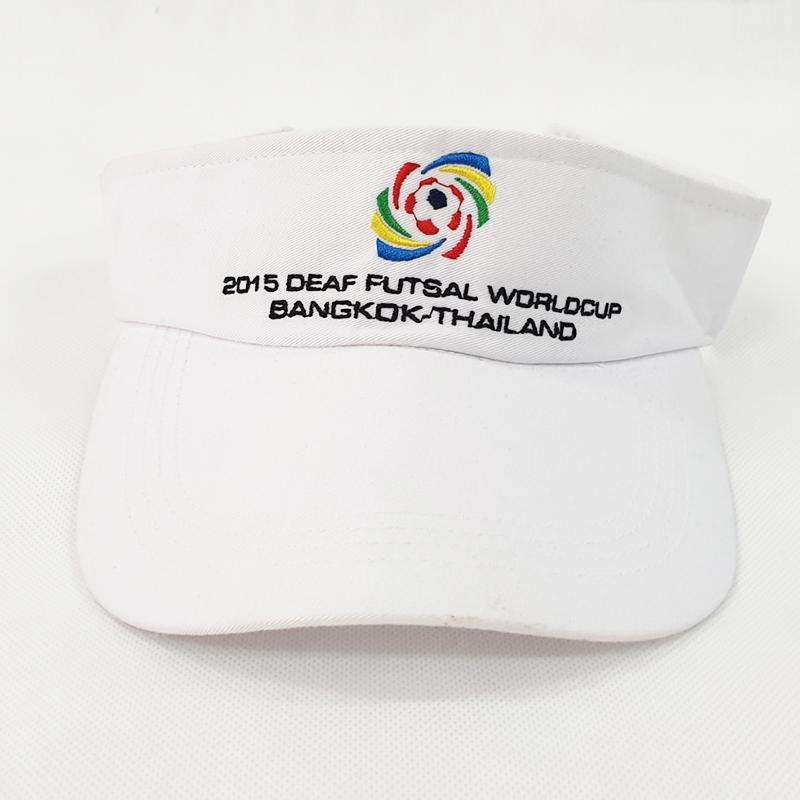 หมวกไวเซอรืสีขาวล้วน