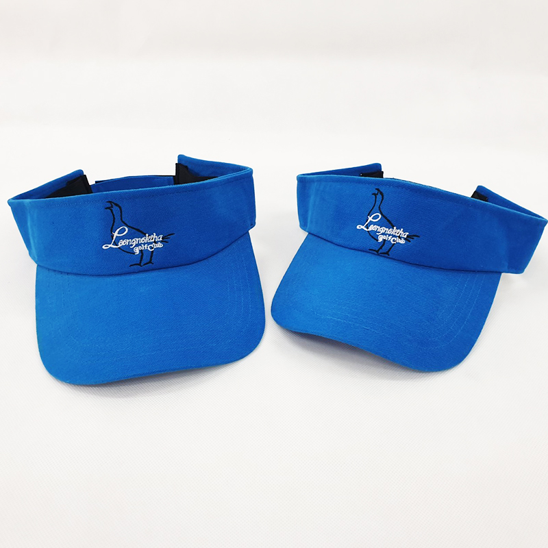 หมวกไวเซอร์สีน้ำเงินล้วน