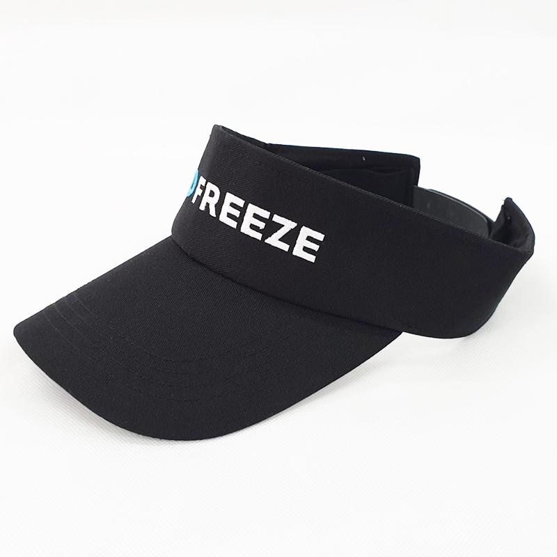 หมวกไวเซอร์สีดำล้วน