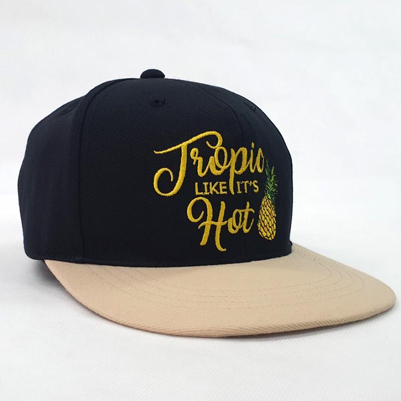 หมวกฮิปฮอปทูโทน tropic