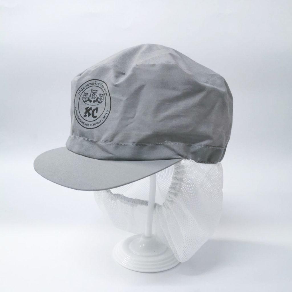 หมวกโรงงาน คลุมผม